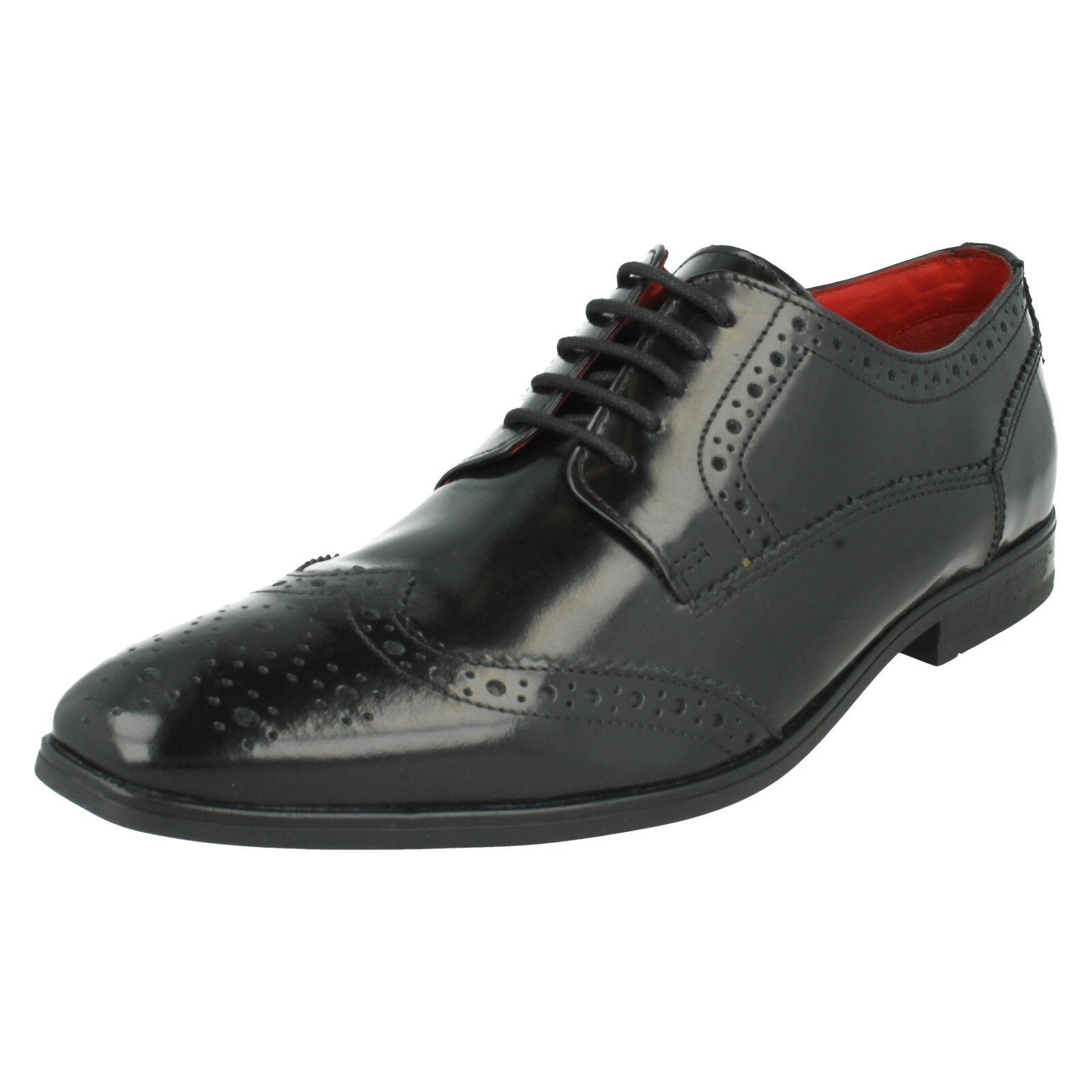 Hombre Base London Formal Lace Up Brogues Formal London Zapatos *Harold* b2a425