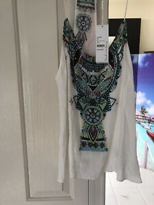 CAMILLA-Franks-T-BACK-WHITE-Top-NEW-WITH-TAGS-Size-Large-L