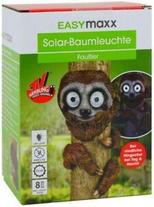 """Fiable Easymaxx Solar-baumtier Solar-del Lampe Solaire Baumleuchte - """"paresseux""""-hte Solarleuchte Baumleuchte - """"faultier"""" Fr-fr Afficher Le Titre D'origine"""