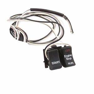 Black~ Stop//Start Switch Twin Power RPLS71589-92