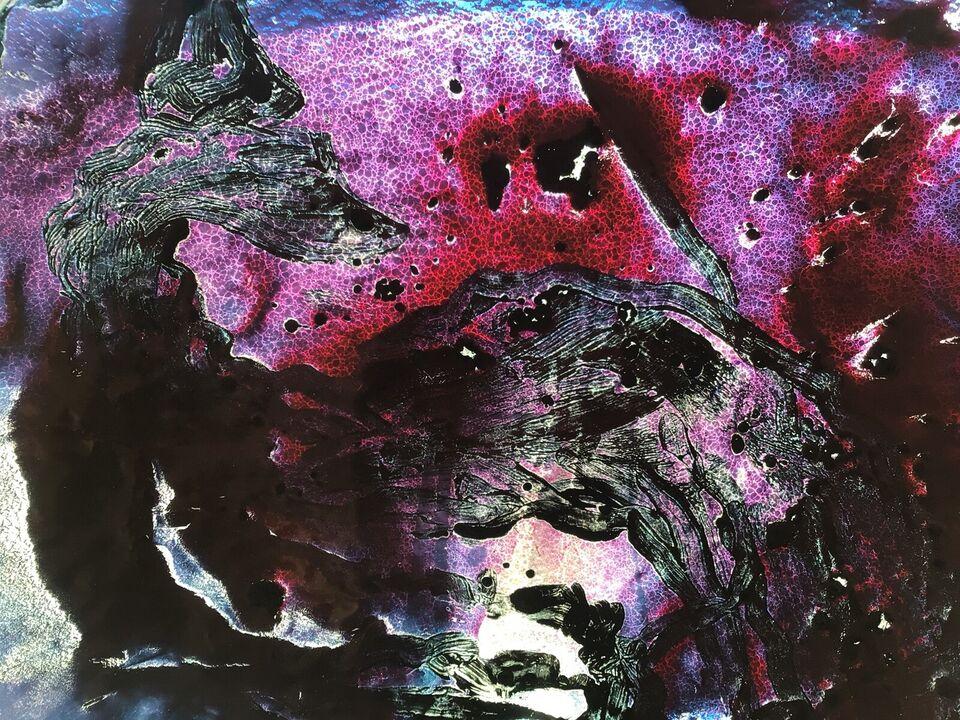 Glasrelieffad, Trondur Patursson, motiv: