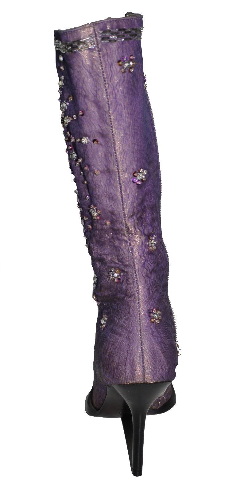 l'autre Chose Lilac 36 Boots UK 3 EU 36 Lilac NWOB 1ff808