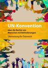 UN-Konvention über die Rechte von Menschen mit Behinderungen (2016, Taschenbuch)