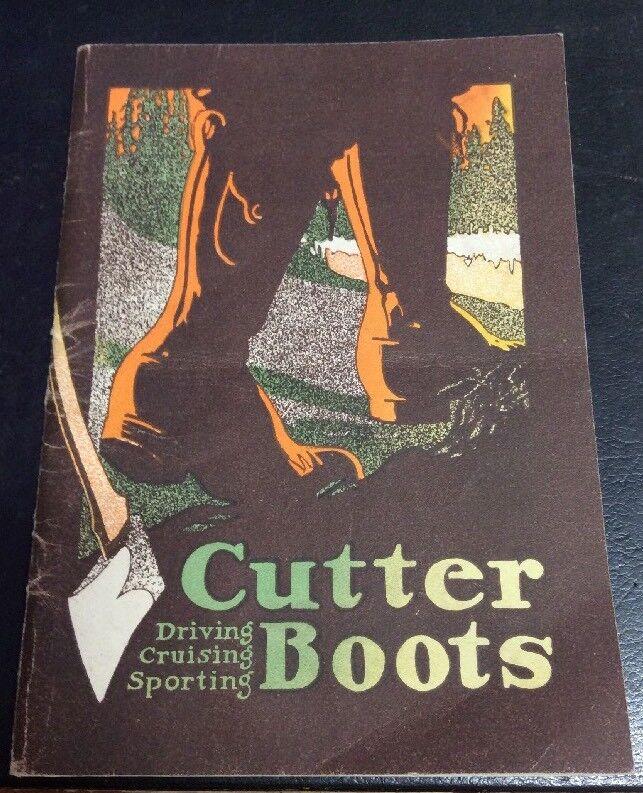 Cutter bottes Vintage 1907 Catolog