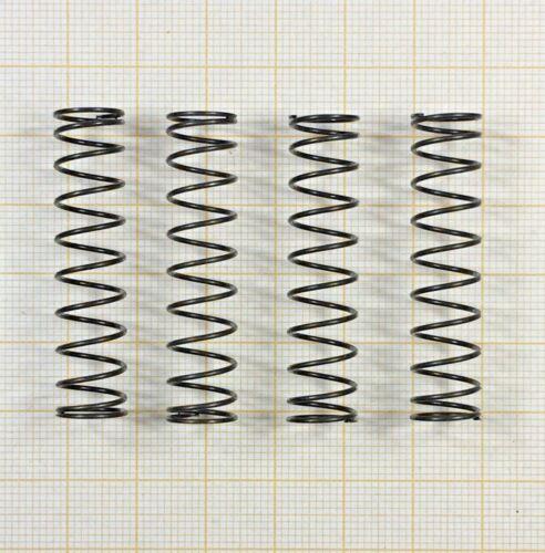 4 x Druckfeder Drahtstärke 0,8mm Länge 43mm Außen Ø10mm