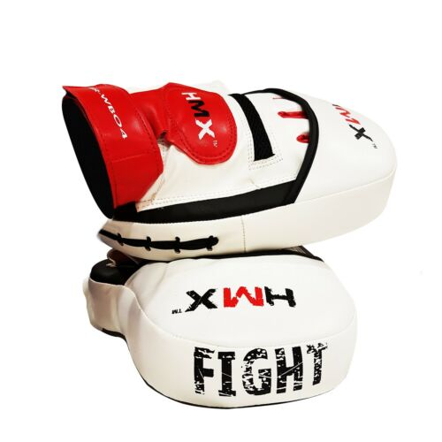 Focus Pads Boxing Mitts Hook and Jab Thai Arm Punch Bag Kickboxing MMA Fitness N
