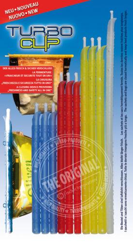 """10er set /""""nuevo/"""" Turbo productos turbo clip-bolsa cierre para congelar"""