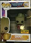 Funko Pop! Marvel Groot #208 Guardians of the Galaxy Vol 2 Hot Topic Exclusive