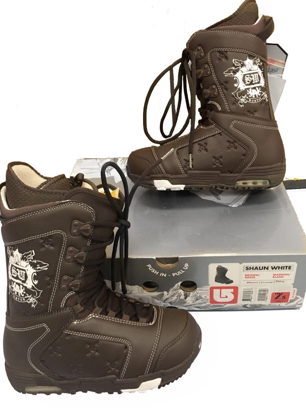 NEW  270 Burton Shaun White Snowboard Boots  US 7.5 Mond 25.5 Euro 40.5 Q