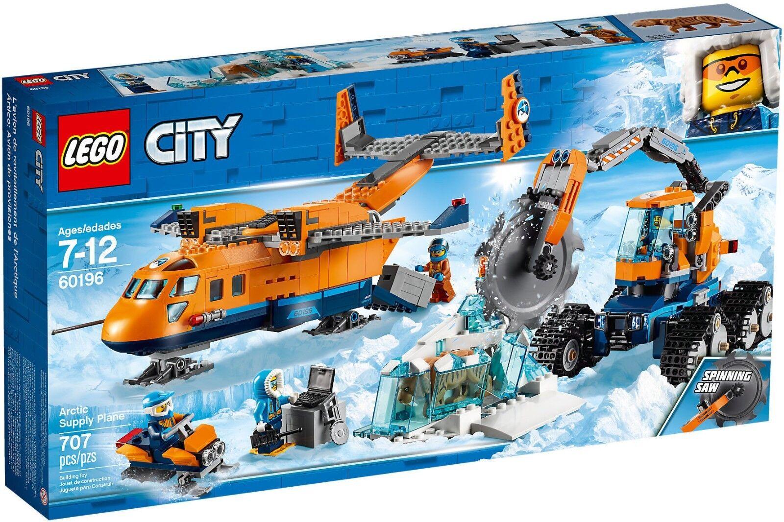 LEGO City 60196 - Aereo Goods Arctic NEW RARE