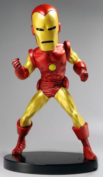 Neca marvel classic iron man extreme kopf knoker