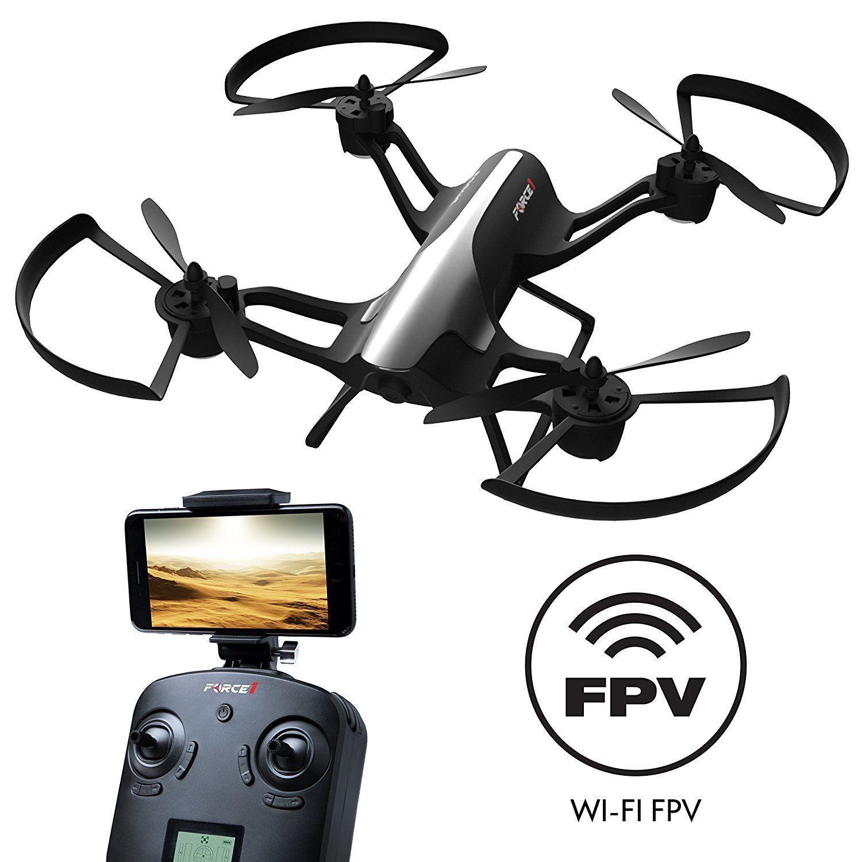Force 1 F72 Rogue vista en primera persona - 720p cámara HD Quadcopter Drone con 1 Key Takeoff