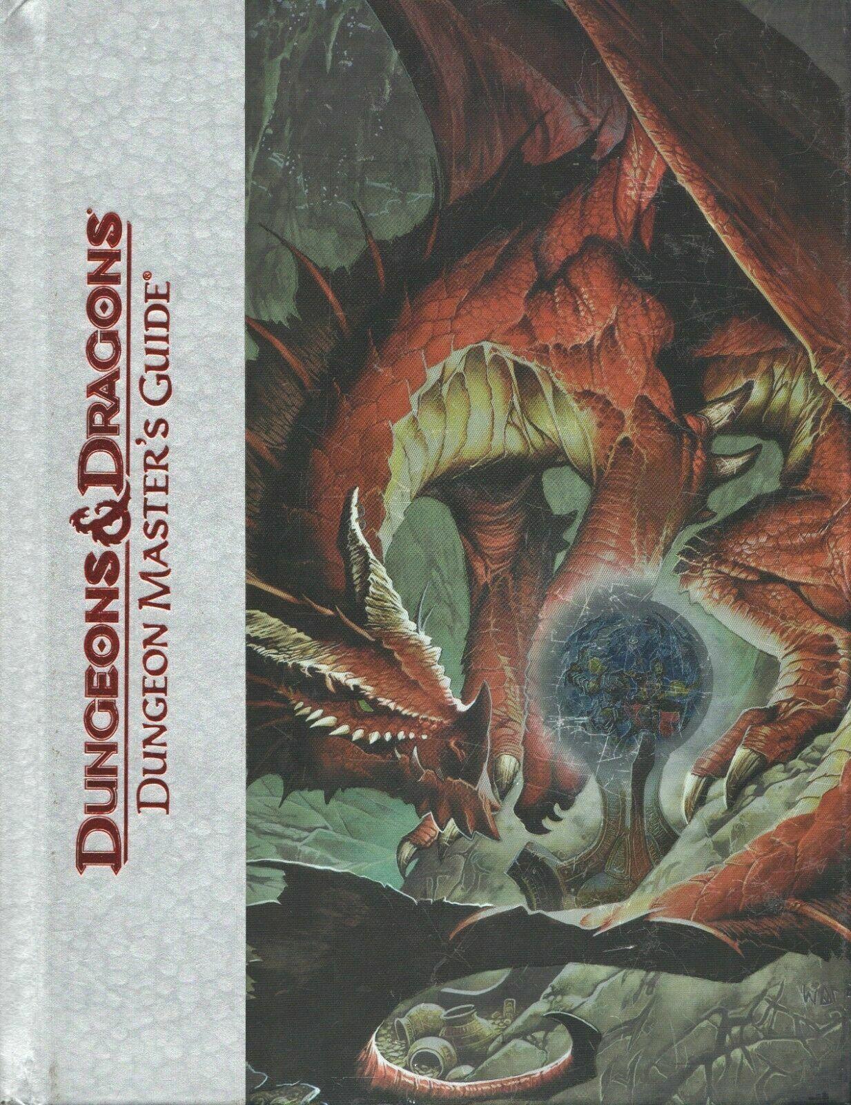 Dungeons & Dragons Dungeon Master guía 4th Edición De Lujo Tapa Dura 2008