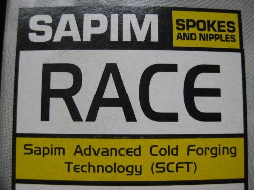 2-1,8-2mm 248-292mm Wunschlänge double butted SAPIM Race Speichen SCHWARZ