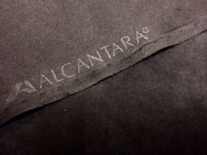 original alcantara stoff pannel tief schwarz deep black lichtecht 150cm breit ebay. Black Bedroom Furniture Sets. Home Design Ideas