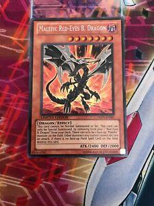 YMP1-EN001 Yugioh Secret Rare Dragon Limited Edition Malefic Red-Eyes B