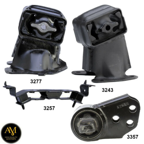 Engine Motor Mount /& Trans Mount W Diff Mount for Jeep Commander 5.7L Auto