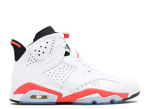 1a7ca319b96a ... black infrared 23 d7bc4 7892b  sale image is loading men 039 s brand  new air jordan 6 35364 69d44
