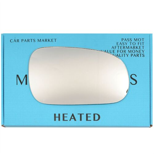 Right Driver side Wing door mirror glass for Honda Accord 1998-03 heated
