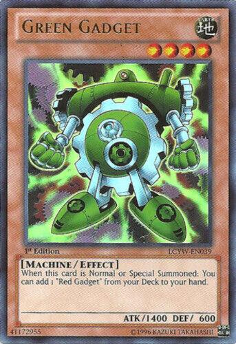 LCYW-EN039 Ultra Rare YuGiOh Green Gadget Unlimited Edition Near Mint