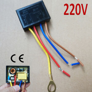 Details About 220 V Touch Lighting Control Sensor Lamp Switch Dimmer Halogen Tungsten Led 150w