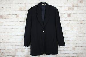 Laura-Ashley-Black-Sports-Coat-size-Uk-10