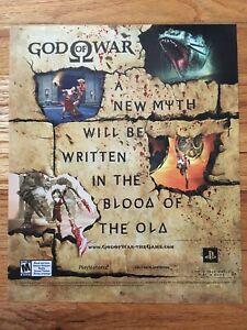 God-of-War-Playstation-2-PS2-Video-Game-Poster-Vintage-Ad-Art-Print