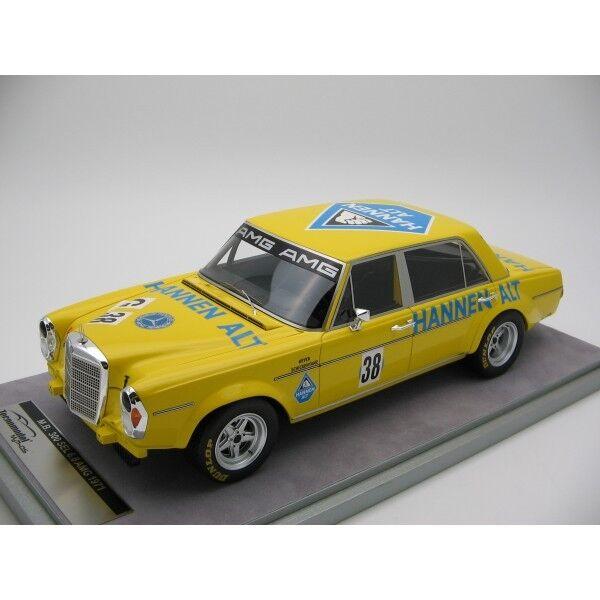 MERCEDES Benz 300 SEL 6.8 AMG Evian 1971  38 Heyer Hannen Tecnomodel 1:18
