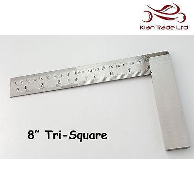 """6/"""" pollici 150mm provare quadrato graduato contrassegnato Tri 90 TOP QUALITY legno carpenteria strumento per legno"""