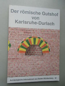 Der römische Gutshof von Karlsruhe-Durlach archäologische Information 32 / 1995 - Deutschland - Vollständige Widerrufsbelehrung Widerrufsbelehrung Widerrufsrecht Als Verbraucher haben Sie das Recht, binnen einem Monat ohne Angabe von Gründen diesen Vertrag zu widerrufen. Die Widerrufsfrist beträgt ein Monat ab dem Tag, an dem Sie od - Deutschland