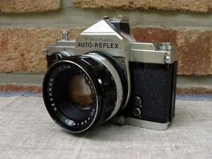 Konica-Classic-Revue-Auto-Reflex-mit-Hexanon-1-8-52mm-034-Sammlerstueck-034-RAR