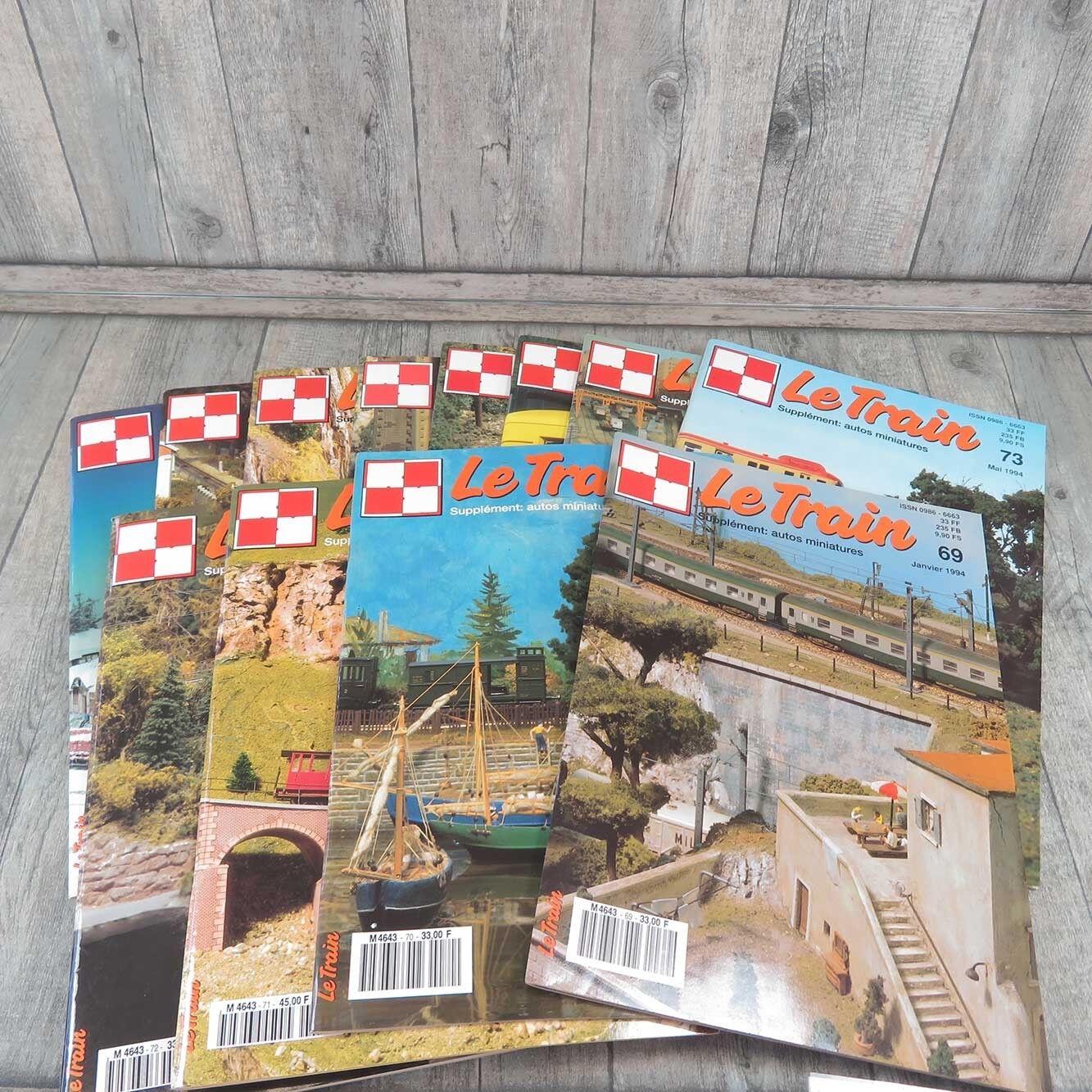 LE TRAIN - 12 Hefte - Jahrgang komlett 1994 -  A21153