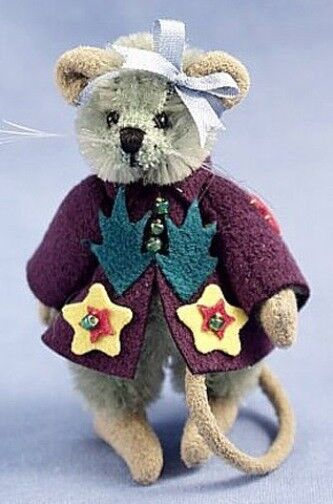 DEB CANHAM   MIMOSA   MOUSE MINIATURE MOHAIR MOUSE