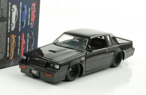 1:24 Dom/'s 1987 Buick Grand National fast and /& FURIOUS Nero Jada