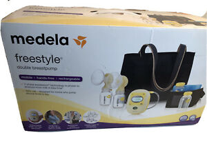 Medela Freestyle Double Electric Breast Pump Nursing Hands Free