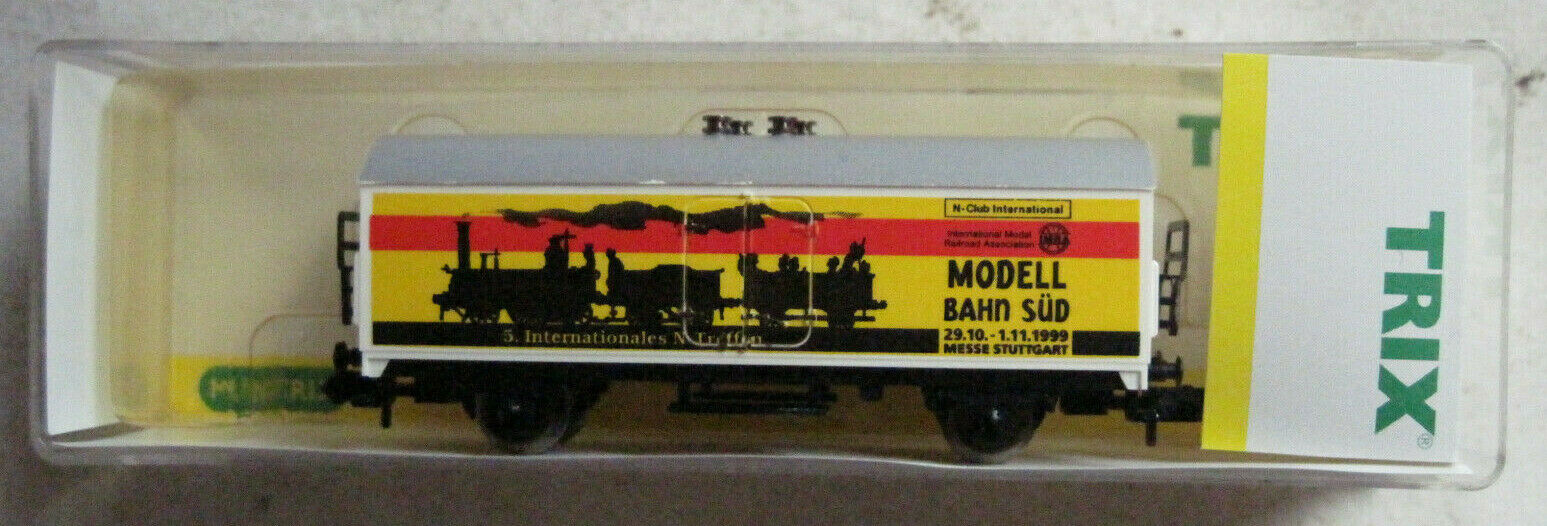 Minitrix Model Bahn Süd 1999 Messewagen