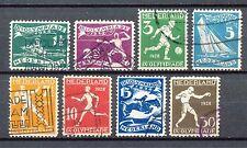 Nederland  212 - 219 gebruikt (2)