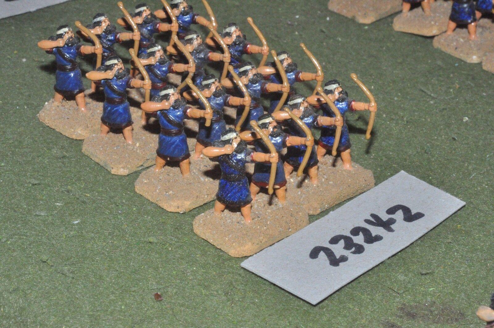 25mm biblical   assyrian - archers 16 figures - inf (23242)
