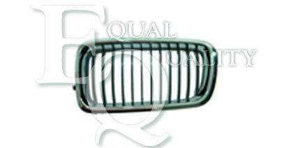 G0639 EQUAL QUALITY Griglia radiatore nero cromato anteriore Dx BMW 7 E38 730