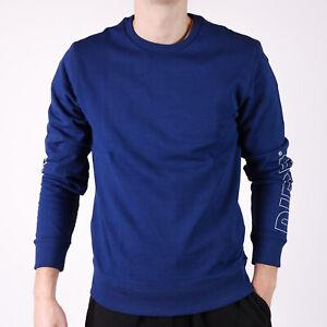 Diesel-Herren-blau-Sweatshirt-UMLT-Willy-XL
