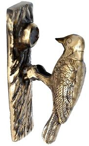 Image Is Loading Vintage Style Woodpecker Bird Designed DOOR KNOCKER Bird