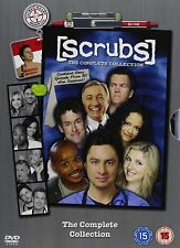 Scrubs – The Complete Series (Seasons 1-9) DVD Boxset Comedy