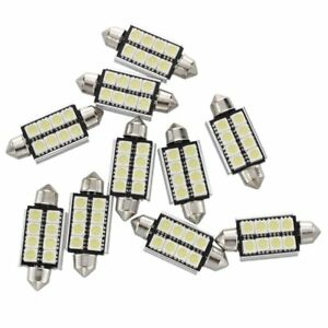 10-x-43mm-5050-SMD-8-LED-Canbus-Ampoule-Lampe-Dome-Festoon-Blanc-Voiture-Q6A5
