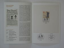(06j40) Bund Erinnerungsblatt 2006 mit ESST Mi.Nr. 2559 Hauptmann von Köpenick