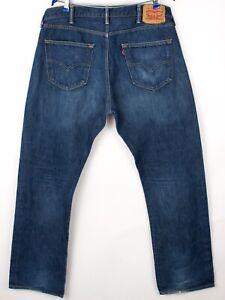 Levi's Strauss & Co Herren 501 Gerades Bein Jeans Größe W38 L32 BCZ248