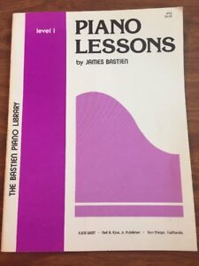 Vintage-The-Basten-Piano-Library-Level-1-Piano-Lessons-Book-By-James-Basten