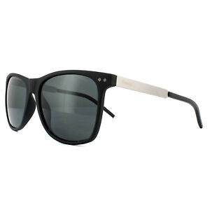 2741e333f301d Polaroid Sunglasses PLD 1028 S 003 M9 Matt Black Grey Polarized ...