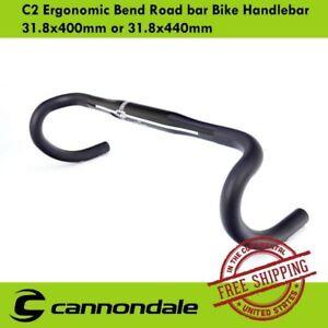 f900d476d6a Image is loading Cannondale-C2-Ergonomic-Bend-Road-bar-Bike-Handlebar-