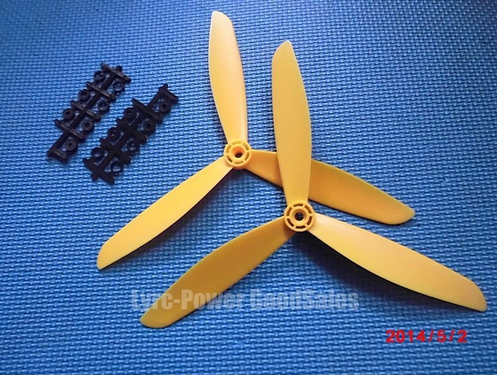 Counter Rotating Propellers : Color fc quot blade counter rotating propeller