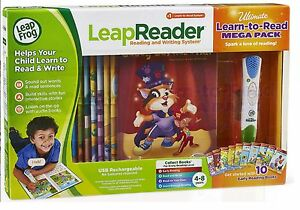 LeapFrog-LeapReader-System-Learn-to-Read-10-Book-Bundle-Ages-4-Toy-Boys-Girls